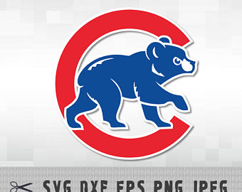 Chicago Cubs SVG PNG DXF Logo Layered Vector Cut File Silhouette Studio  Cameo Cricut Design Template - Chicago Cubs Logo PNG