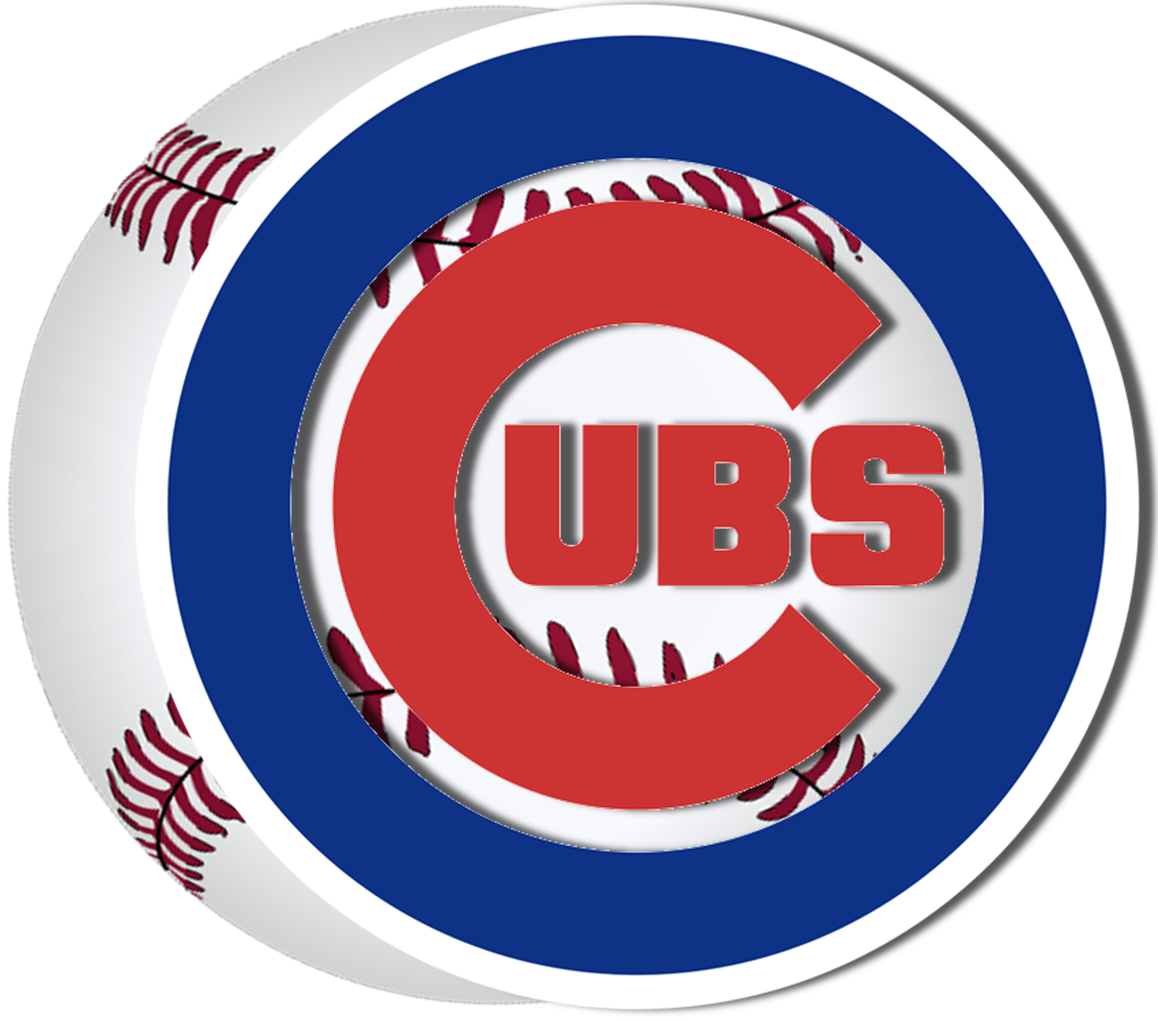 Cubs logo w baseball 201px - Chicago Cubs Logo PNG
