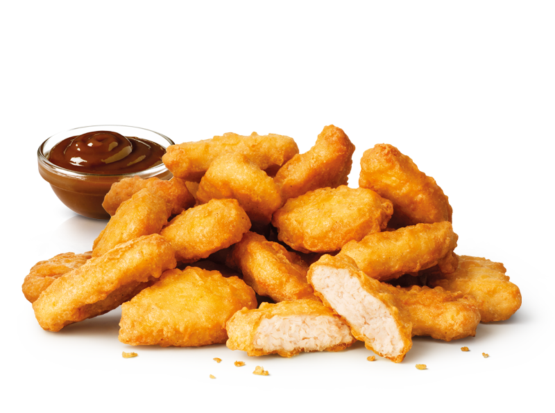 CHICKEN McNUGGETS 20 - Chicken Nuggets PNG