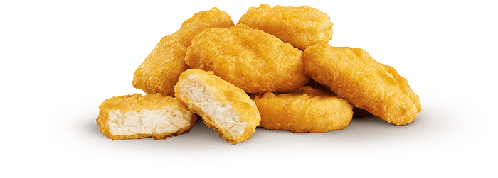Chicken Nuggets - juicy, tender chicken breast in a crispy tempura coating - Chicken Nuggets PNG