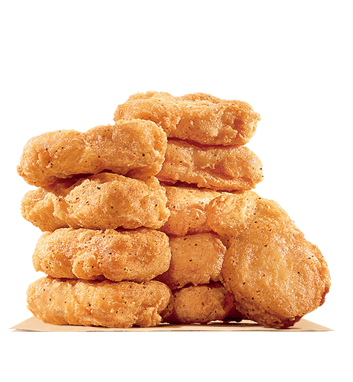 Made with white meat, our bite-sized Chicken Nuggets are tender and juicy  on the inside and crispy on the outside. Coated in a homestyle seasoned  breading, PlusPng.com  - Chicken Nuggets PNG
