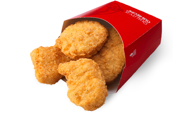 Wendyu0027s Chicken Nuggets.png - Chicken Nuggets PNG