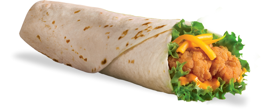 Dq Combos Chicken Wrap Flamethrower Image - Chicken Wrap PNG