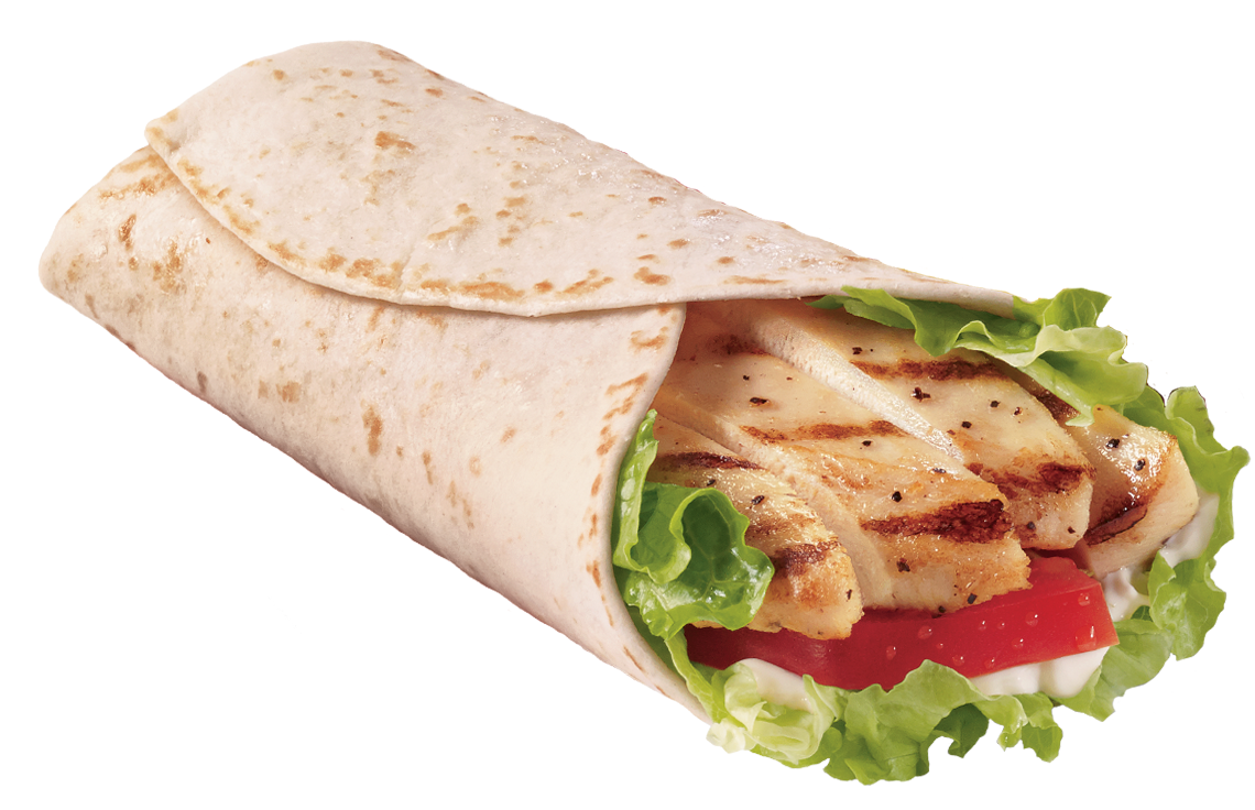 Chicken Wrap PNG