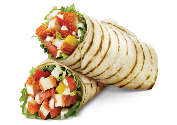 Photo of the Buffalo Chicken Wrap - Chicken Wrap PNG