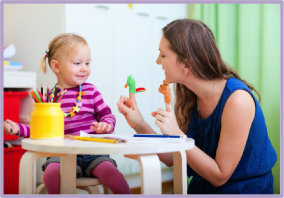 Speech and language therapy Photo of therapist and child in therapy session - Child Psychologist PNG