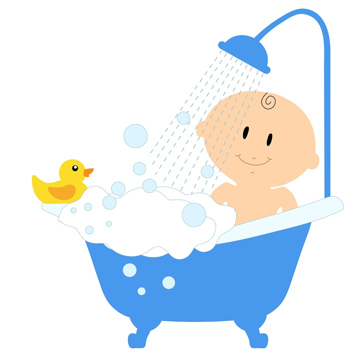 Bathing Cartoon Shower gel -