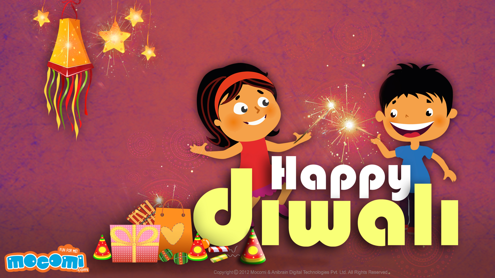 Children Celebrating Diwali PNG - 83551