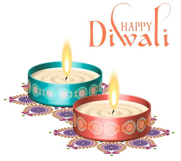 Happy Diwali Nice Candles PNG Clipart Image - Children Celebrating Diwali PNG