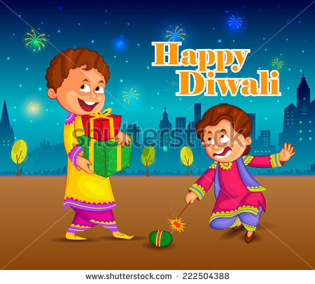Children Celebrating Diwali PNG - 83552