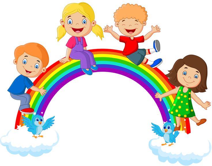 Children Having Fun At School PNG - 167058