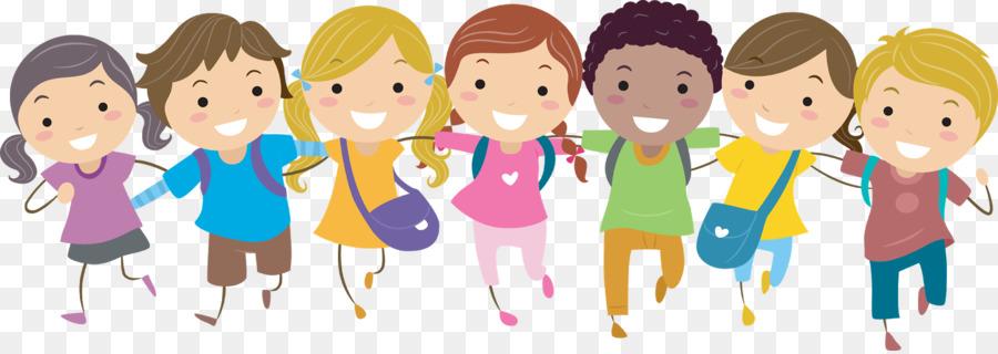 Children Having Fun At School PNG - 167054