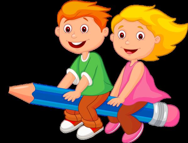 Children Having Fun At School PNG - 167057