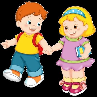 Children Having Fun At School PNG - 167045