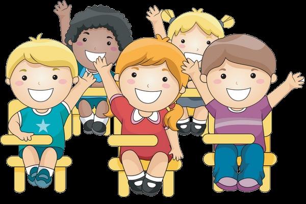 Children Having Fun At School PNG - 167041