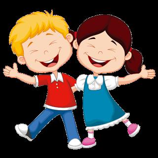 Children Having Fun At School PNG - 167047