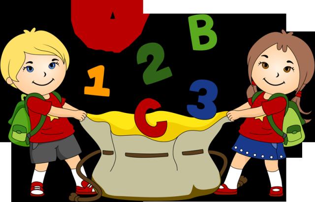 Children Having Fun At School PNG - 167055