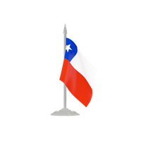Chile Flag Transparent PNG Image - Chile PNG