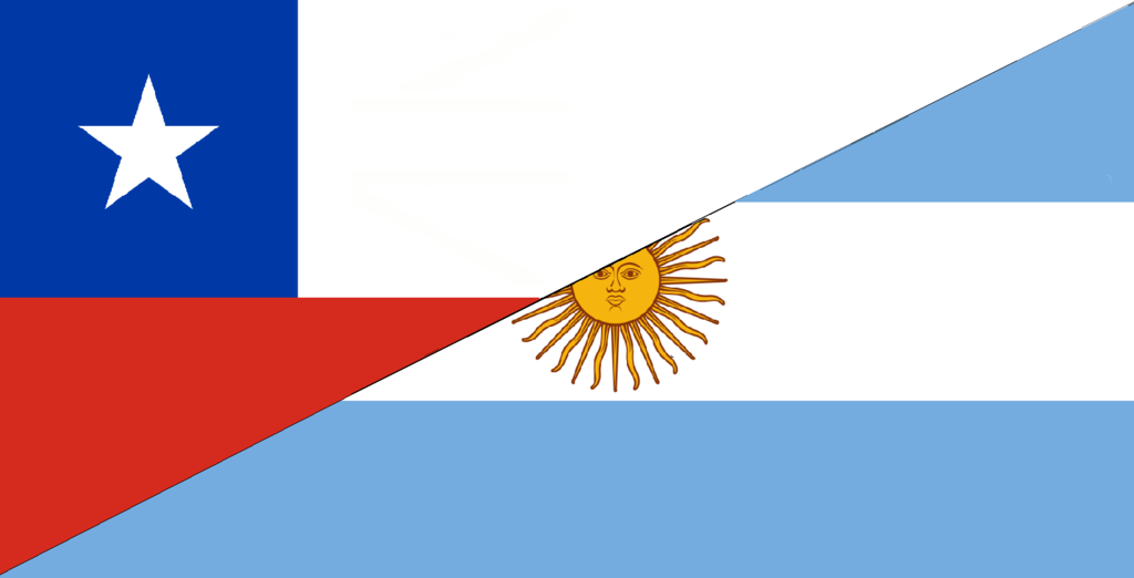 File:Flag of Argentina and Chile.png - Chile PNG