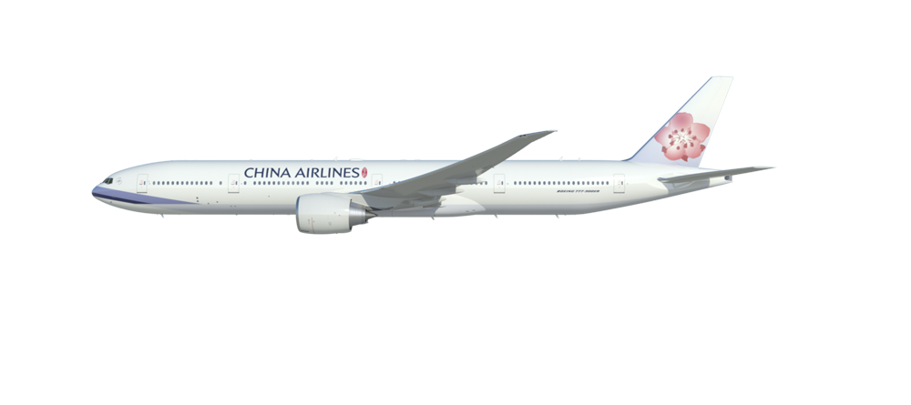 drag to rotate - China Airlines PNG