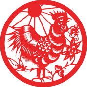 chinese-new-years-zodiac-year-of-the-rooster. - Chinese New Year HD PNG