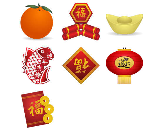 Chinese New Year Icons Icon Pack by Jeffrey Davidson - Chinese New Year PNG