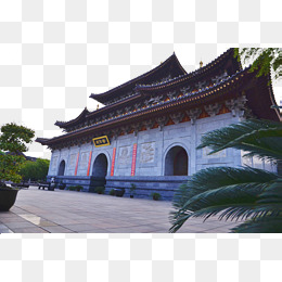 Chengdu Buddha Temple landscape, Temple, Hd Pictures, Big Buddhist Temple  PNG Image - Chinese Temple PNG HD