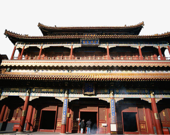 Hail Court, Ancient Architecture, HD Photo Free PNG Image - Chinese Temple PNG HD