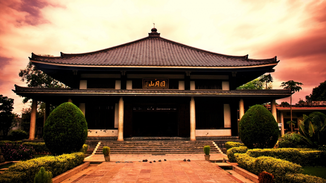 Japanese Temple - Chinese Temple PNG HD