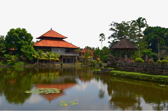 Mother Temple scenery, Natural Scenery Hd Pictures, Bali, Mother Temple  Free PNG Image - Chinese Temple PNG HD