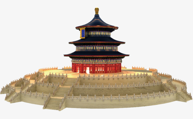 Temple of Heaven Chinese temple HD, Temple Of Heaven, Chinese Style, Temple  Free PNG Image - Chinese Temple PNG HD