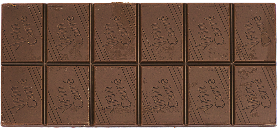 Chocolate Bar, Chocolate, Sweetness, Nibble - Chocolate Bar HD PNG