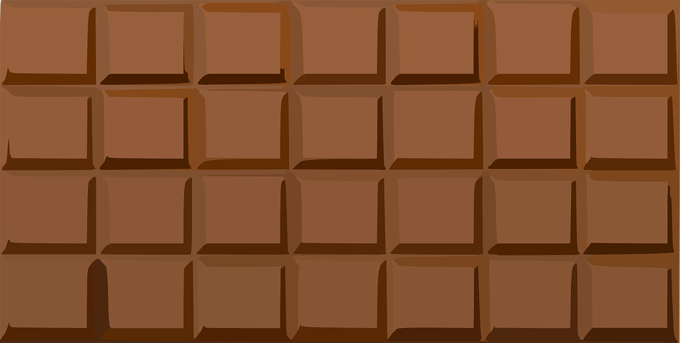 Chocolate, Bar, Sweet, Candy, Brown, Delicious - Chocolate Bar HD PNG