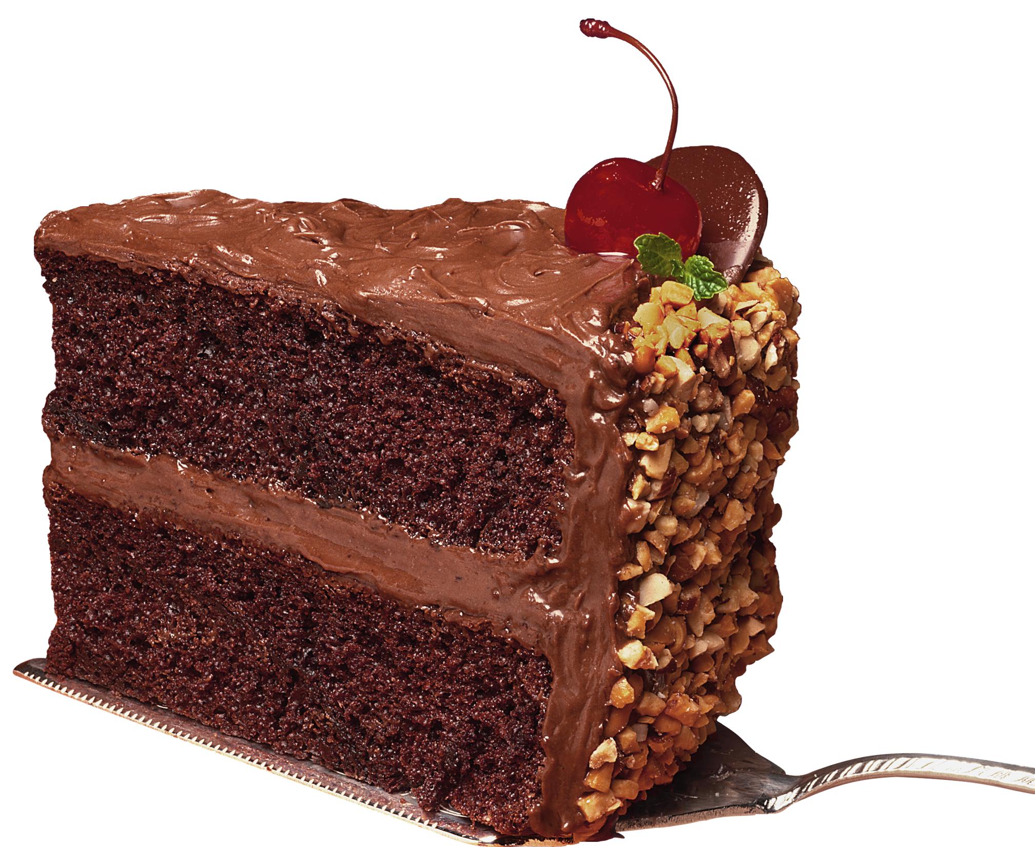 Chocolate Cake PNG HD - 130206