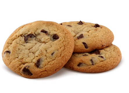 Chocolate Chip Cookies PNG HD