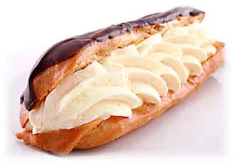 Chocolate Eclair PNG - 84020