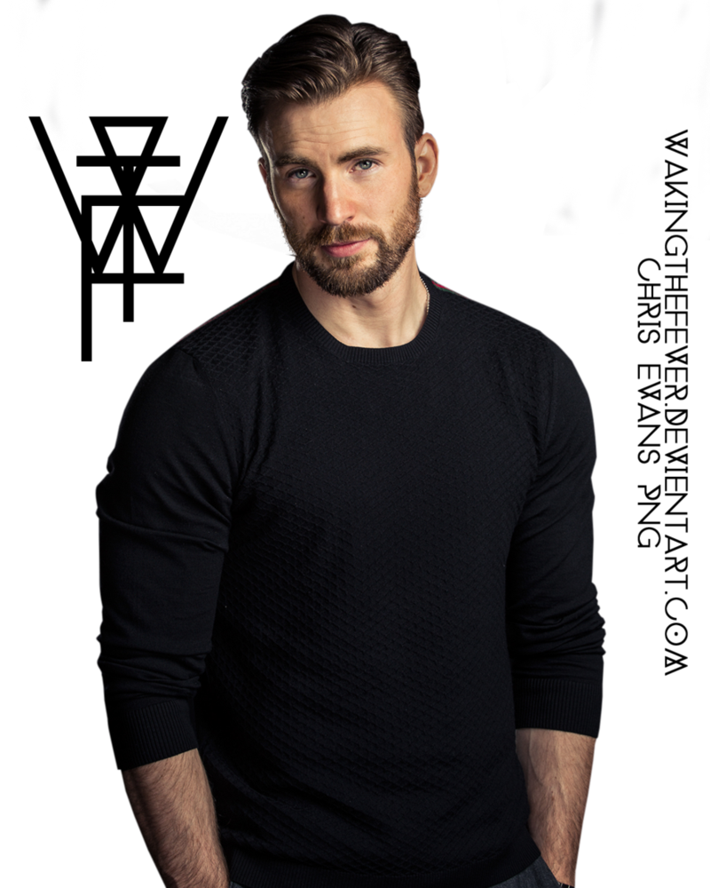Chris Evans PNG by WakingTheFever PlusPng.com  - Chris Evans PNG