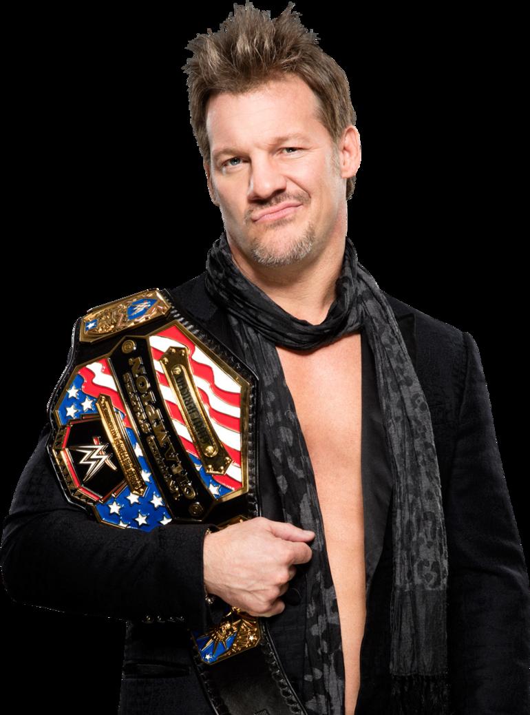 Chris Jericho United States Champion RAW 2017 PNG by AmbriegnsAsylum16 PlusPng.com  - Chris Jericho PNG