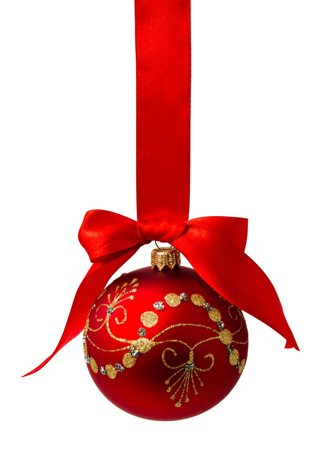 christmas 20ribbon 20images Red Christmas Ball Png - Christmas Ball PNG