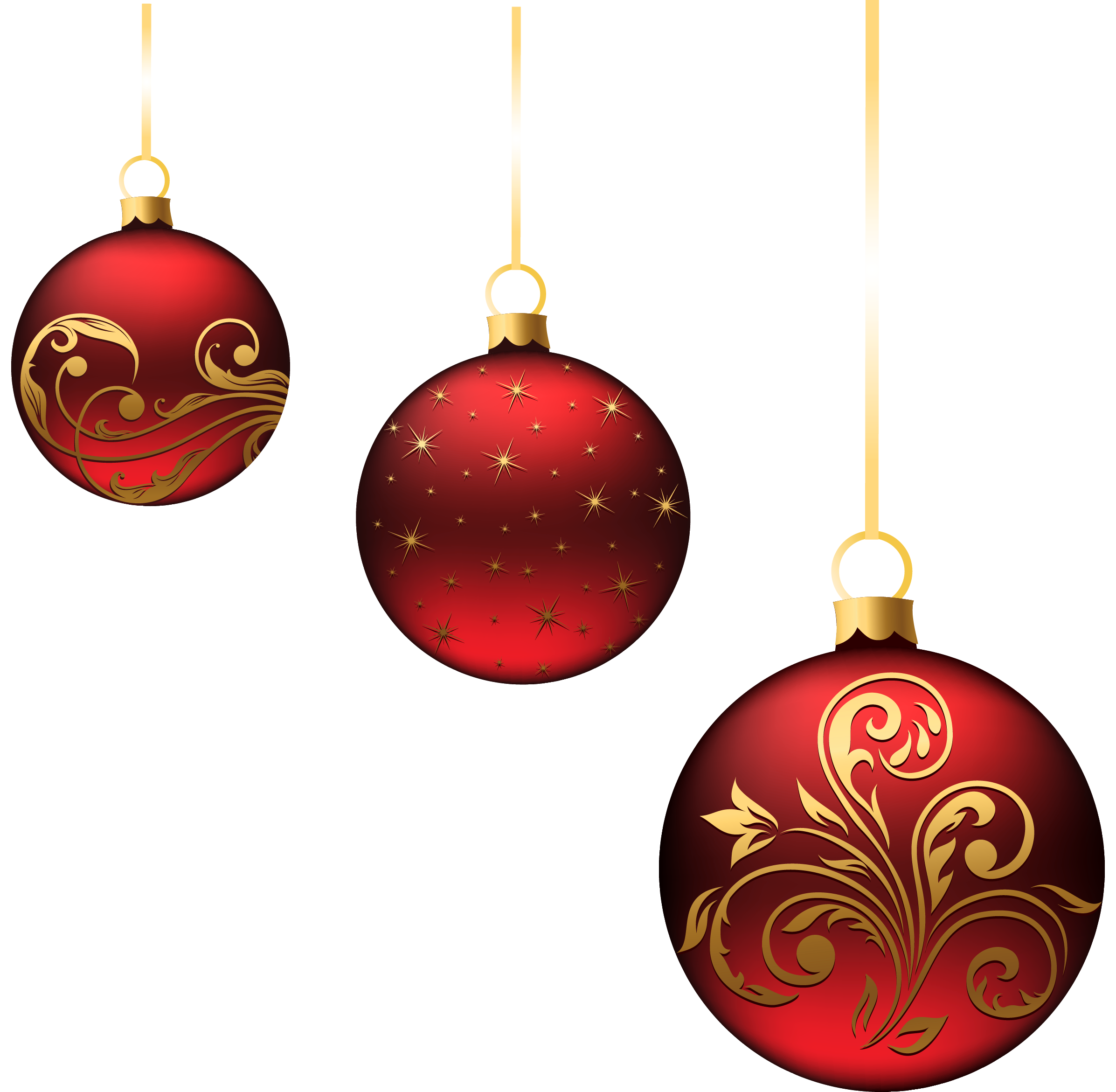 Christmas ball toy PNG image