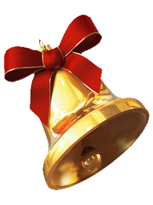 Christmas Bell Gold Transparent Background · Gold Christmas Bell  Transparent Background - Christmas Bell PNG