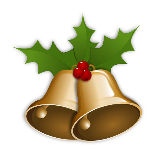 File:Christmas Bells.png - Christmas Bell PNG