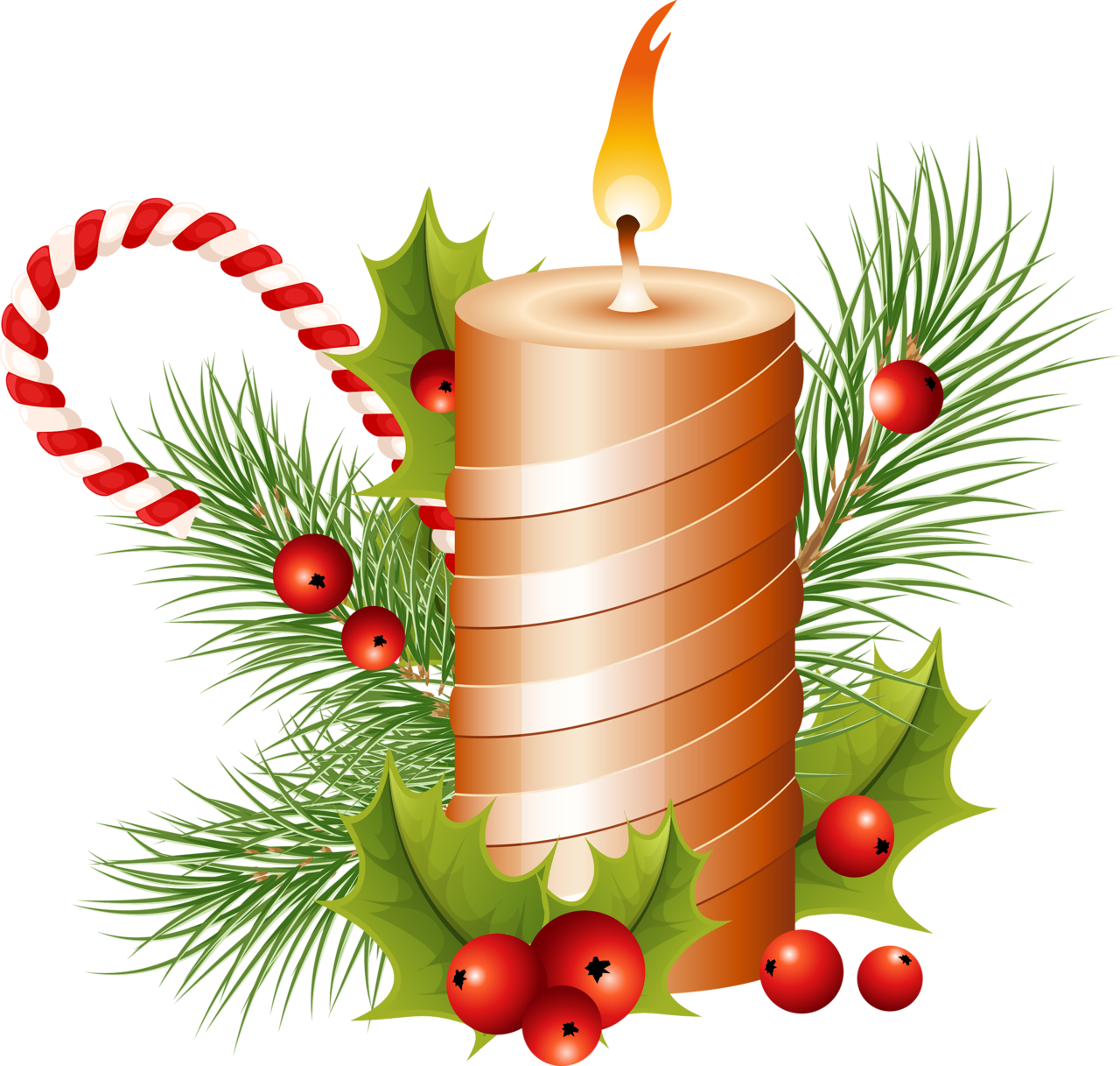 Christmas candle PNG image - Candle PNG