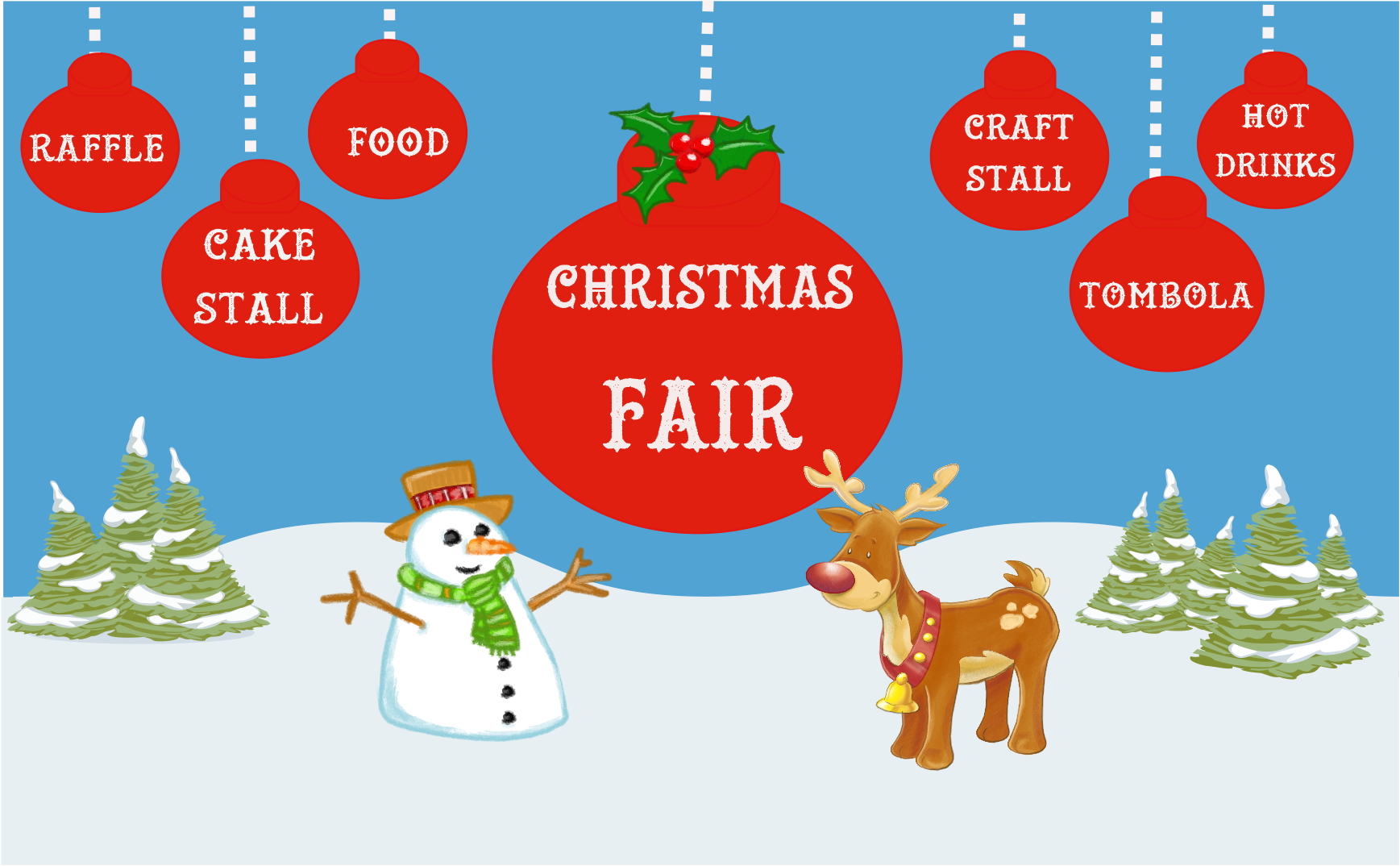 Christmas Fair at Toby House - Christmas Fayre PNG