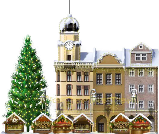 File:Christmas Market.png - Christmas Fayre PNG