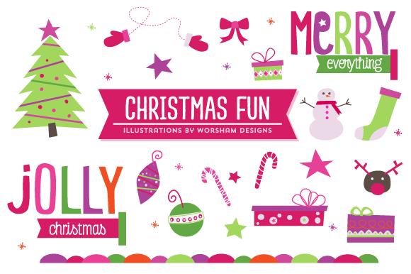Fun Christmas Clipart - Christmas Fayre PNG