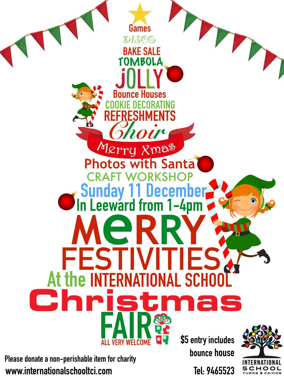 International School Christmas Fair 2016 - Christmas Fayre PNG