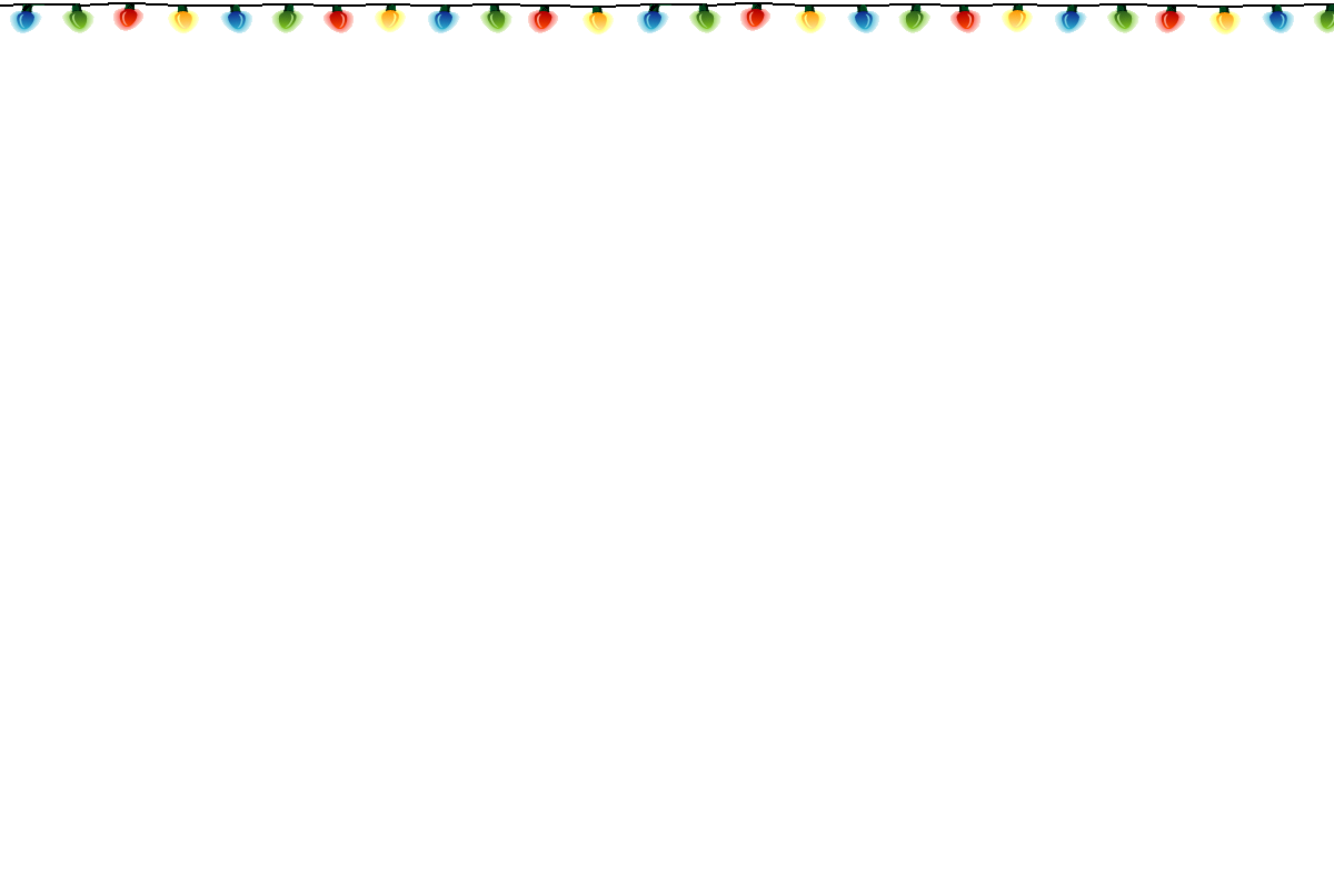Christmas Lights PNG - 6032