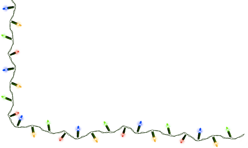 Christmas Lights Png image #1
