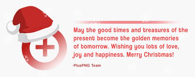 PlusPNG Team Christmas Message!